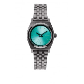 Reloj Nixon Small Time Teller light blue