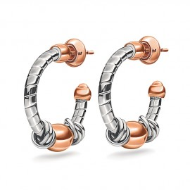 Pendientes Folli Follie Aegean Breeze plateados