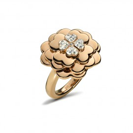Anillo Folli Follie Santorini Flower rosé gold