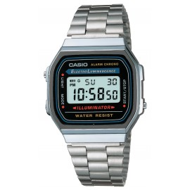 Reloj Casio plateado vintage collection