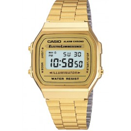 Reloj Casio dorado retro collection
