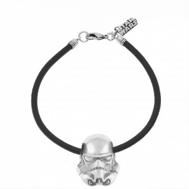 Pulsera Star Wars Trooper caucho