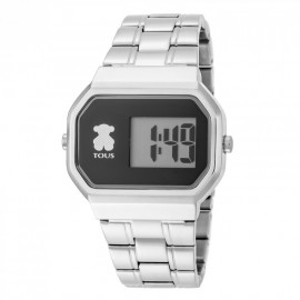 Reloj Tous D-Bear acero digital