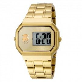 Reloj Tous D-Bear Digital dorado