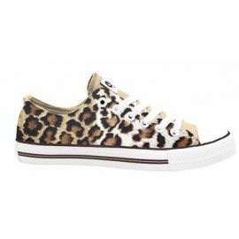 Zapatillas Celdes Leopardo Animal print