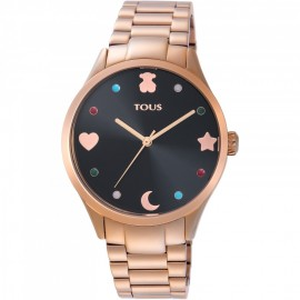 Reloj Tous Super Power acero IP Rosado