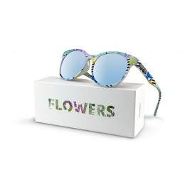 Gafas blue linum flower