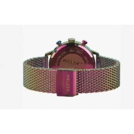 Reloj Welder malla color neon