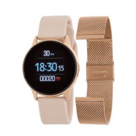 Reloj smart watch Marea rosa. Correa intercambiable