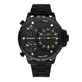 Reloj Radiant Papy IP black negro