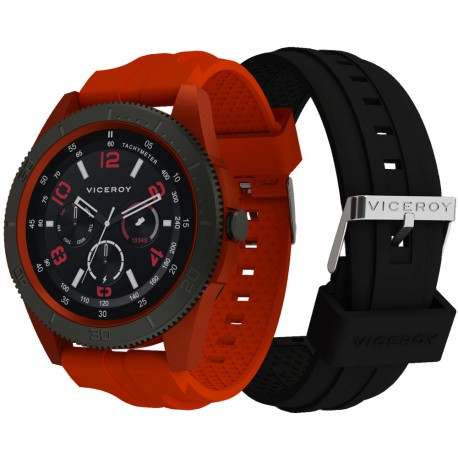 Reloj Viceroy Smart Watch caucho rojo
