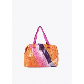 Bolso Lola Casademunt weekend animal print multicolor
